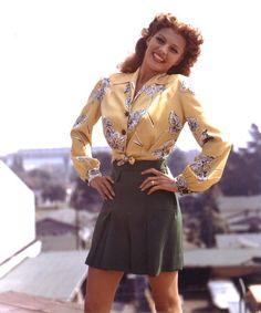 Love the shorts - Rita Hayworth