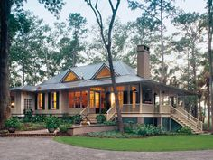 Tideland Haven Floorplan. Southern living House plans. Very cute cottage.