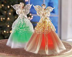 LED Color Changing Heavenly Angel Decoration
