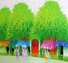 вьетнамский художник phan thu trang - Поиск в Google
