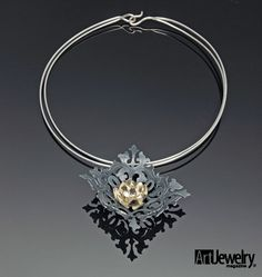 Hiromi Suter - Art Jewelry Magazine - Jewelry Projects and Videos on Metalsmithing, Wirework, Metal Clay