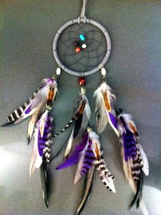 CUSTOM Small Dream Catcher You choose colors by LeslieRead on Etsy, $22.00