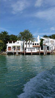 Shakira's music studio at Star Island in So. Miami Beach. http://travelplannersinc.biz/