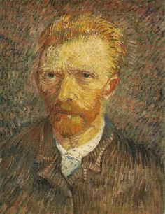 Van Gogh Self-portrait, 1888 - 01