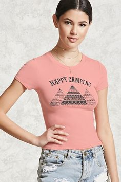 Happy Camping Graphic Tee