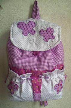 mochila infantil de tecido como fazer