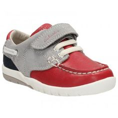 264eeb20ce5 Clarks Boy s Softly Flag First Shoe Boat Shoes