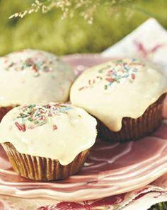 Caramel and banana cupcakes