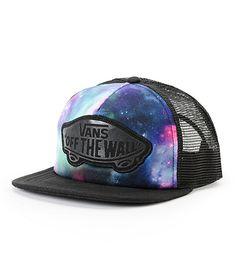 5a30ef158f3 Vans Beach Girl Galaxy Trucker Hat