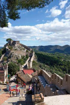 Vista del castell de Xàtiva (PEDRO DE lA FUENTE) @pedro4info
