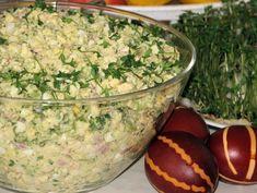 Sałatka wielkanocna z brokułem - Przepisy kulinarne - Sałatki Guacamole, Potato Salad, Salads, Thanksgiving, Potatoes, Ethnic Recipes, Food, Thanksgiving Tree, Essen