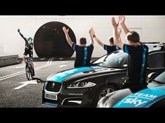 Chris Froome, Team Sky and Jaguar: 'Cycling Under The Sea' - YouTube