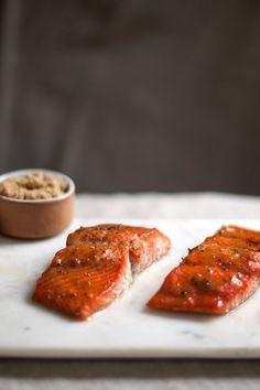 Roasted Salmon Glazed With Brown Sugar and Mustard Recipe - NYT Cooking
