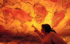 Check out some year old cave drawings in the Caves of Altamira and reflect on human existence Cave Drawings, Native Art, Spain Travel, Ancient Art, Prehistoric, Rock Art, Archaeology, Painted Rocks, Art Gallery