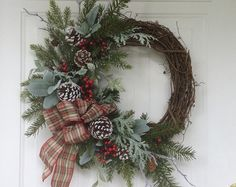 natural wreaths - Google Search