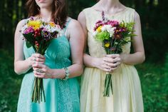 Whimsical Summer Wedding |Photographer: Darkershadesofbrown Photography