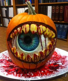 Eye of the Beholder from the 2013 Pumpkin Carving Contest