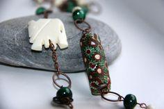 Epla er et nettsted for kjøp og salg av håndlagde og andre unike ting! Copper Necklace, Handmade Jewelry, Shops, African, Drop Earrings, Shopping, Fashion, Moda, Tents