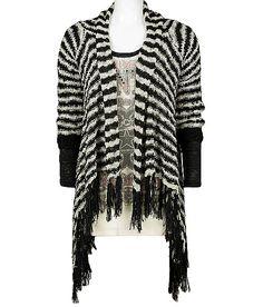 Daytrip Fringe Cardigan Sweater