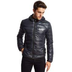 Emporio Armani EA7 Bubble Hooded Jacket | JD Sports