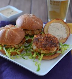 Bayou Shrimp Sliders on the grill