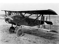 A U.S. Army Air Corps Verville-Sperry M-1 Messenger at the National Advisory Committee for Aeronautics, Langley, Virginia (USA) 15 April 1926: The Army's Sperry M-1 Messenger tested variable-camber wings at Langley in 1926.