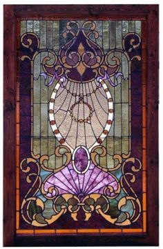 Stunning Stained Glass Window by Ammazed
