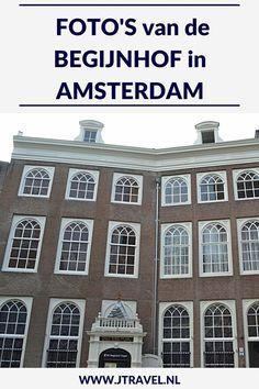Aan de Singel in Amsterdam ligt het Begijnhofje, verscholen achter een poort in de drukke binnenstad van Amsterdam. Ben je binnen en de toeristen zijn weg, dan is dit een oase van rust. Neem een kijkje in de beide kerken in het hofje. Mijn foto's van dit hofje zie je hier. Kijk je mee? #begijnhof #hofje #amsterdam #jtravel #jtravelblog #fotos