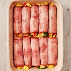 Ham, Egg & Cheese Roll-Ups are the Low-Carb Breakfast Sandwich You've Always Wanted. by Delish US Play Video These Ham, Egg & Cheese Roll-Ups are the Low-Carb Breakfast Sandwich You've Always Wanted. by Delish US Play Video These Ham Breakfast, Breakfast Dishes, Healthy Breakfast Recipes, Breakfast Burritos, Healthy Food, Mexican Breakfast, Breakfast Sandwiches, Healthy Recipes, Healthy Breakfasts