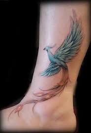 Image result for phoenix tattoo ankle