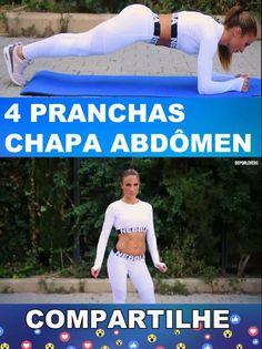 4 pranchas Chapa abdômen 4 boards Abdominal plate Related Post FITNESS RECIPE / Vanilla flan Legs: my custom printable workout by . Fitness Workout For Women, Body Fitness, Physical Fitness, Fitness Tips, Health Fitness, Gym Fitness, Gym Workouts, At Home Workouts, Excercise
