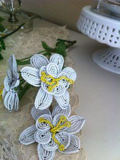 Vintage Beaded Flower Bouquet