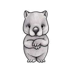 Stickstay wall transfer designed by Lisa Flodmark, Vic the Wombat loves her friends. Add one or more to add the perfect Scandi touch to your modern nursery. Hand Tattoos, Wall Transfers, Five Friends, Australian Animals, Papua New Guinea, Cute Faces, Cool Walls, Nursery Wall Art, Kids Bedroom