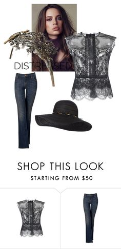 """""""Skinny Jeans"""" by astellaatelier ❤ liked on Polyvore featuring Alberta Ferretti and Simply Vera"""