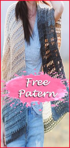 Hello friends addicted to crochet, today I am offering for you 11 models of Crochet Cardigan. There are 11 free patterns to choose the model that combines with your body and style. I love free empl… Crochet Cardigan Pattern Free Women, Crochet Patterns Free Women, Crochet Hoodie, Crochet Jacket, Free Crochet, Knit Crochet, Crochet Ideas, Crochet Blogs, Crochet Vests