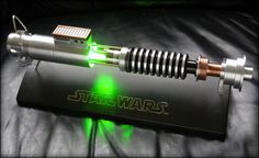 Luke's lightsaber in Return of the Jedi.  Awesome replica.