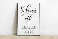 Remove shoes sign, Shoes off sign, PRINTABLE art, Mud room decor, Shoes off print, Please remove your shoes, Welcome sign, Entry room decor Shoes Off Sign, Remove Shoes Sign, Face Line Drawing, Neutral Walls, Alphabet Print, Dorm Decorations, Mudroom, Printable Wall Art, Wall Prints
