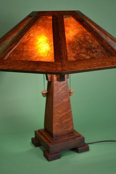 Saugatuck Mission Oak Lamp