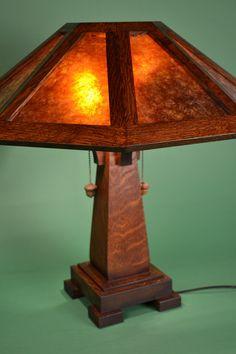 Saugatuck Mission Oak Lamp