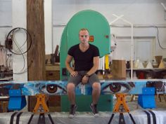 Laurie Wiid van Heerden from Wiid Design, By Design Cape Town, Ny Times, South Africa, Cool Designs, Designers, Van, Sculpture, Creative, Furniture