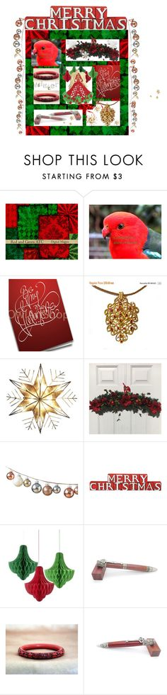 """""""Merry Christmas"""" by mytabletcaseplace ❤ liked on Polyvore featuring interior, interiors, interior design, home, home decor, interior decorating, Polaroid, Kurt Adler, DwellStudio and Dot & Bo"""