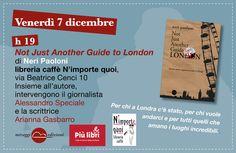 """A Roma per #piulibri2012 scoprire il fascino di Londra con """"Not Just Another Guide to London""""."""