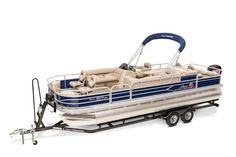 SUN TRACKER Boats : Fishing Pontoons : 2016 FISHIN BARGE 24 DLX Photo Gallery