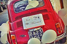 Fiat 500,Italian vintage car by SposiamoVi Puglia