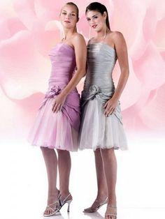 Cute for junior bridesmaids dresses.