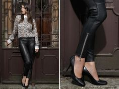 Aggressive look? Cosa ne pensate!? Venite a scoprire i vari modelli su www.kubera-108.com #leathertrousers #rebel