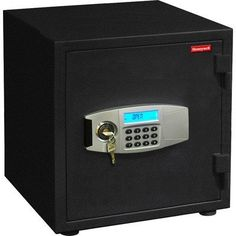 Honeywell 2115 1.20 Cubic Feet Water Resistant Steel Fire and Security Safe by Honeywell. $330.00. From the Manufacturer                This Honeywell Model 2115 water resistant, all steel security fire safe features a 1 hour fire rating - 1700/927-Degree C, with a 1.20 cubic feet of interior storage capacity, dual programmable digital and key lock protection, advanced dual user lock, LCD display panel showing the date and time, provides a user history log of rec...