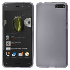 Insten Dirt Dust Proof TPU Rubber Gel Phone Case Cover for Amazon Fire Phone At&t