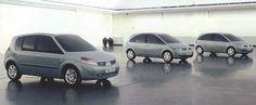 OG | 2003 Renault Scenic Mk2 | Full size clay models