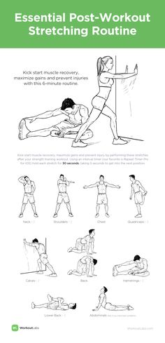 start muscle recovery, maximize gains and prevent injuries with this stretching routine.Kick start muscle recovery, maximize gains and prevent injuries with this stretching routine. Fitness Workouts, Fitness Motivation, You Fitness, At Home Workouts, Health Fitness, Fitness Quotes, Fitness Weightloss, Mens Fitness, Post Workout Stretches